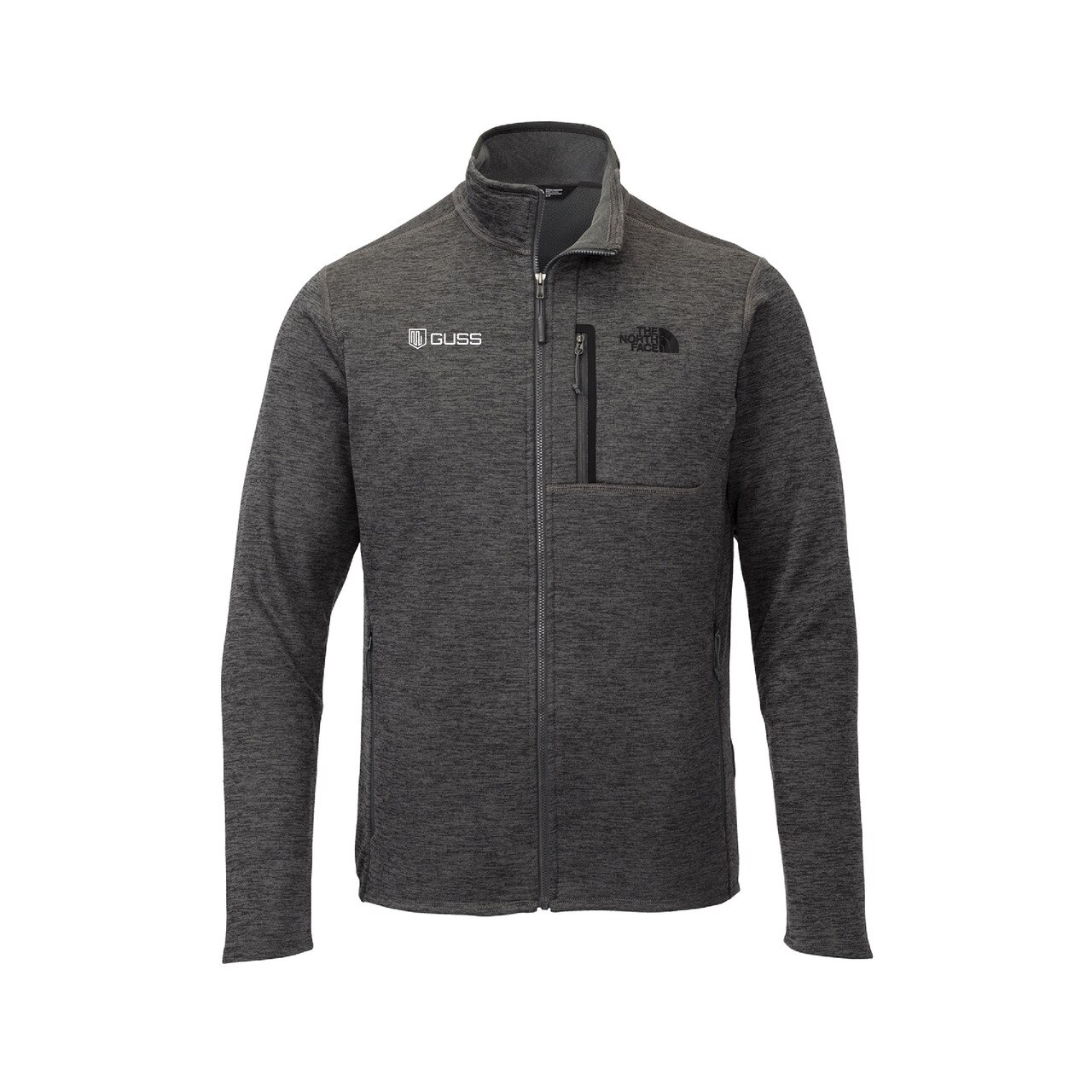 Men Fleece Jacket - North Face Skyline Full-Zip