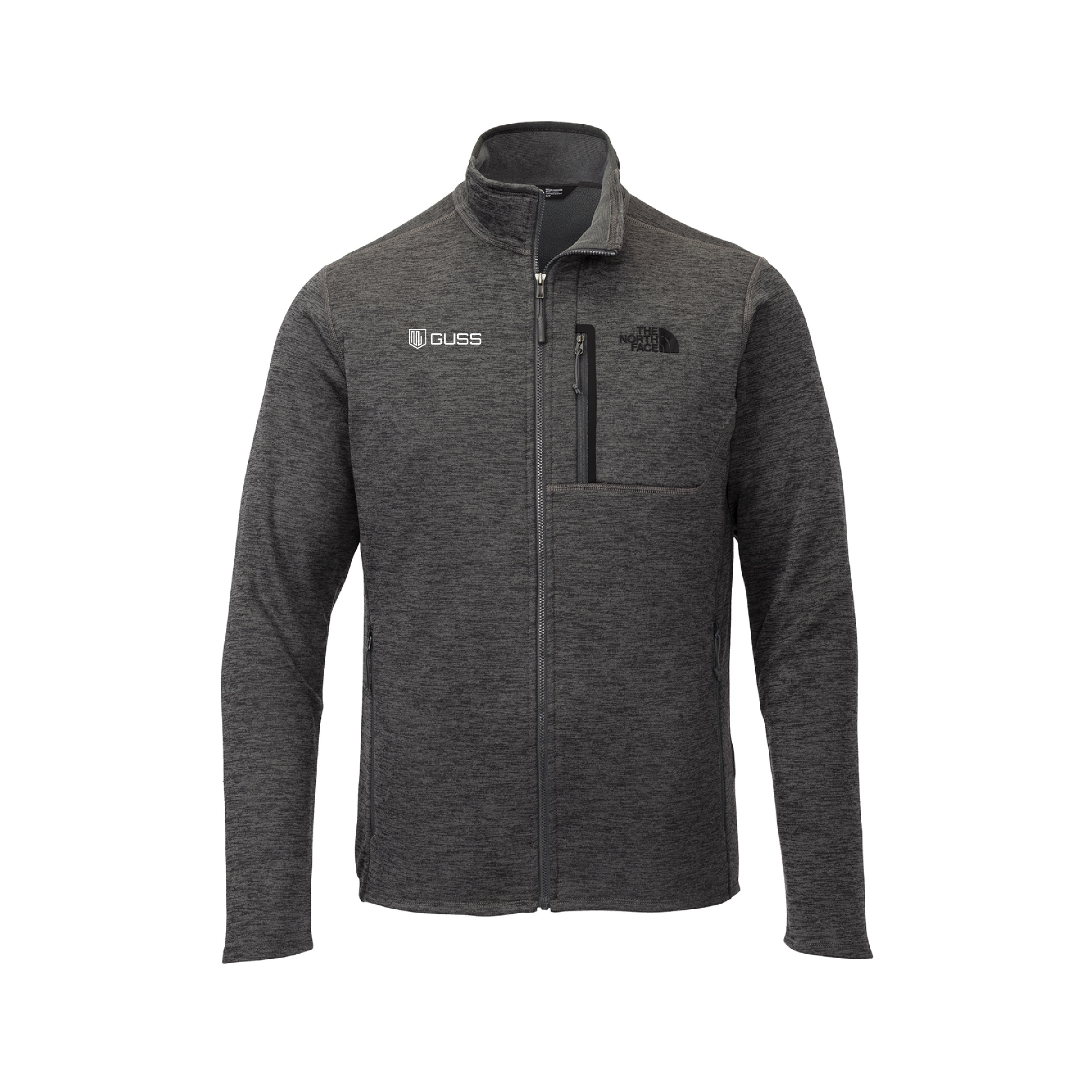 Mens Fleece Jacket - North Face Skyline Full-Zip