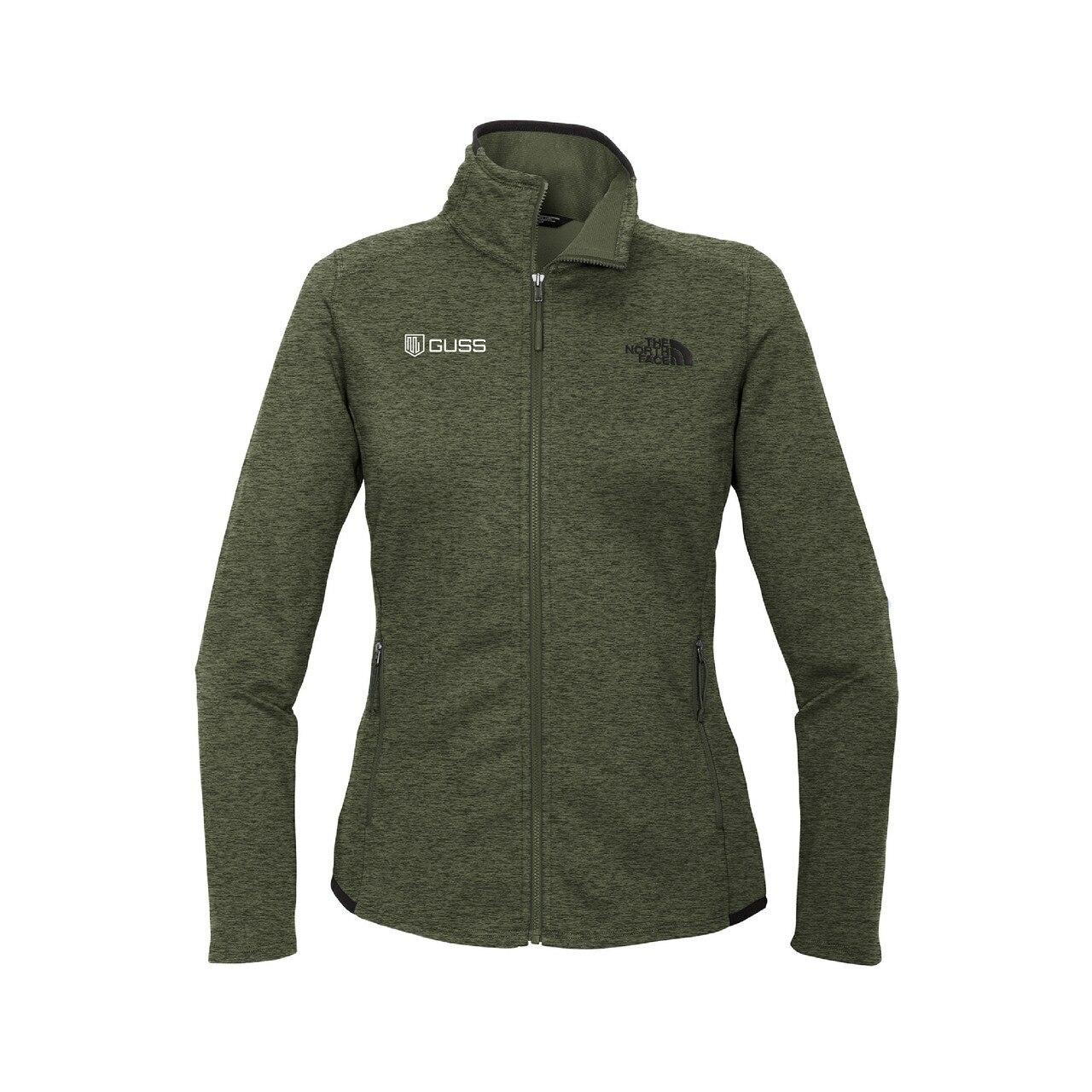 Women's - North Face Skyline Full-Zip Fleece Jacket - Four Leaf Clover