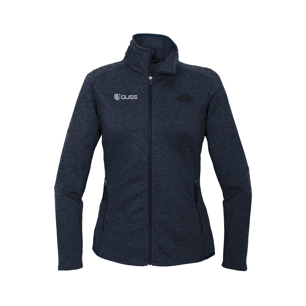 Women's - North Face Skyline Full-Zip Fleece Jacket - Urban Navy Heather