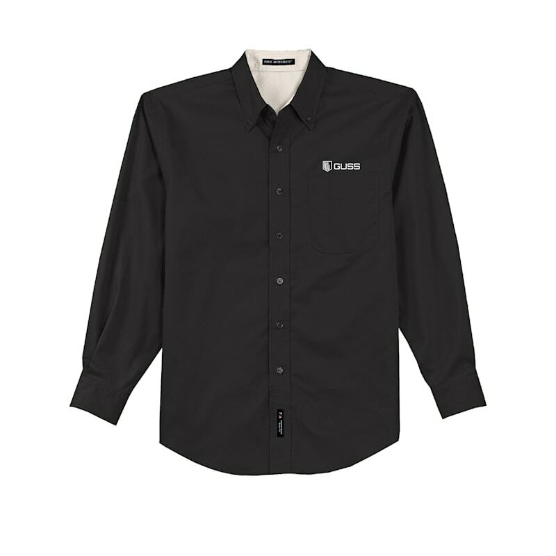 Men - Port Authority Long Sleeve Easy Care Shirt - Black