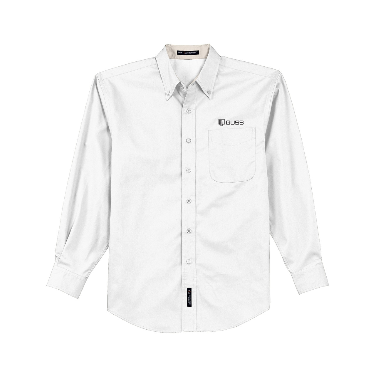 Men - Port Authority Long Sleeve Easy Care Shirt - White
